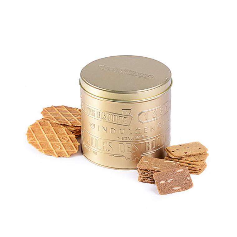 Bánh quy Jules' Tin hộp thiếc vàng 217g